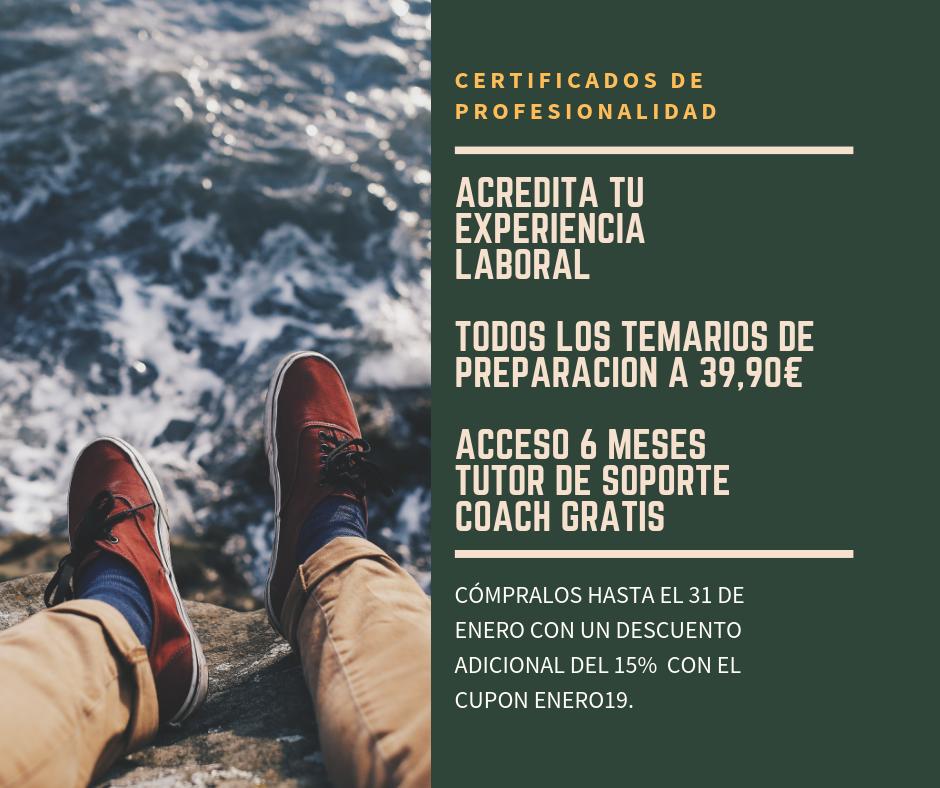 Certificados de Profeionalidad